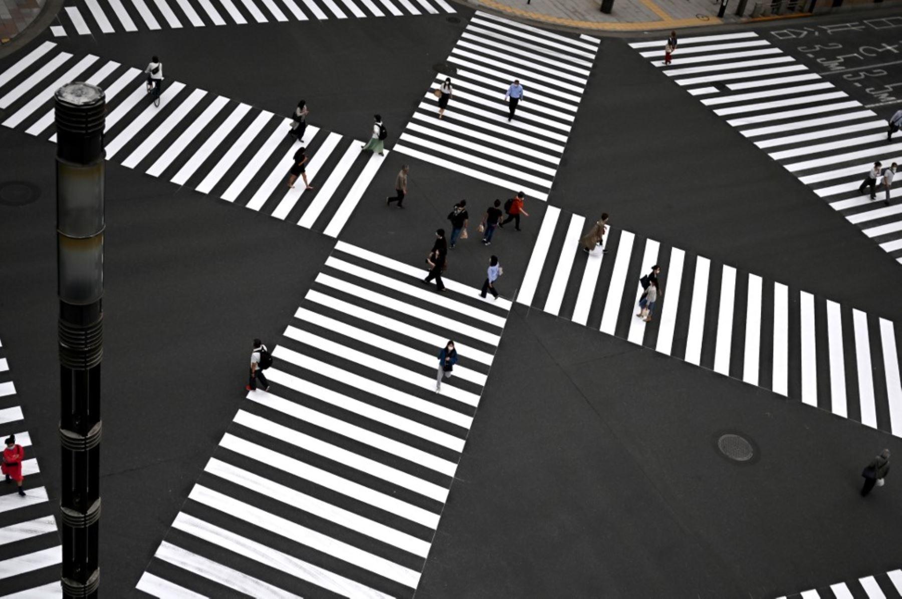 El jueves 7 de enero el primer ministro Suga decidirá si declara el estado de emergencia por segunda vez en Japón (Foto: Andina)