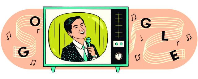 "Hasta Google le rindió un homenaje a Kyu Sakamoto a través de un ""doodle"" de búsqueda (captura de pantalla de Google)"